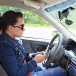 If you text when you are driving, you are at risk
